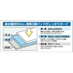 サイドシークレット3枚組≪男性用尿もれガードパンツ≫LLサイズ