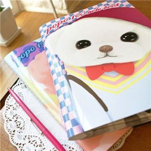 JETOY(ジェトイ) POPO100Pノート2冊セット(ピンクカップ&スクールルック)