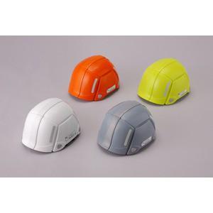 防災用折りたたみヘルメット BLOOM(グレー)〔防災ヘルメット〕