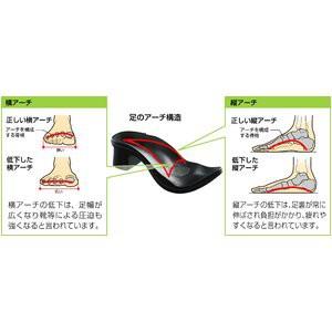 〔足に優しいサンダル〕アーチサポートサンダル バックベルト付き Mサイズ(23〜24cm )