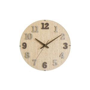 CHAMBRE HEMP CLOCK〔BROWN〕
