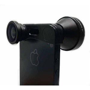 ルーメン iPhone5/5s専用3in1レンズ ブラック LM-FMST