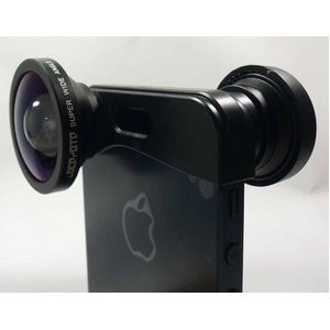 ルーメン iPhone5/5s専用3in1レンズ ブラック LM-FMSW