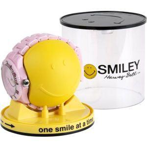 SMILEY(スマイリー)腕時計 SMILEY Harvey Ball(スマイリーハーベイボール) ピンク WGHB-PP-