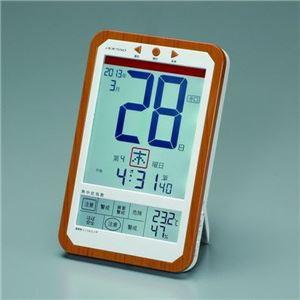 ADESSO(アデッソ) デジタル日めくり電波時計 C-8414