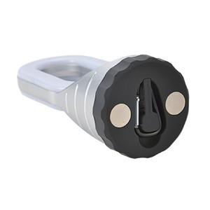 LEDハンディライト 〔カラビナ&マグネット付き〕 24灯/単4乾電池式