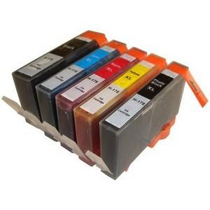 【HP対応】HP-178BK/HP-178XL PBK/C/M/Y (ICチップなし) 互換インクカートリッジ【5色セット×2セット】