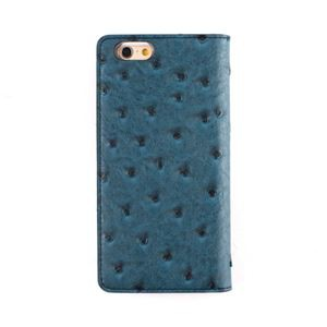 GAZE iPhone6/6S Ostrich Diary スワンプグリーン【代引不可】