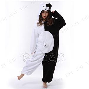 〔コスプレ〕 フリースモノクマ着ぐるみ