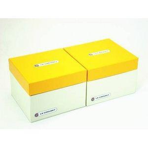 ル・クルーゼ (Le Creuset) ラムカンフルール S(フタ付き) ペアセット フルーツグリーン&フルーツグリーン