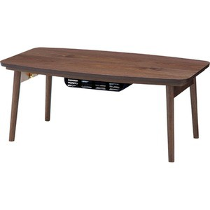リビングこたつテーブル(フォールディングコタツ) 〔Elfi〕エルフィ 長方形(90cm×50cm) Elfi90WAL