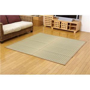 純国産/日本製 掛川織 い草カーペット 『奥丹後』 江戸間2畳(約174×174cm) 正方形