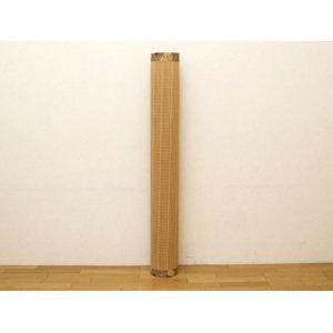 細ヒゴ使用 竹カーペット 『DXバハマ』 ブラウン 140×200cm(中材:ウレタン)