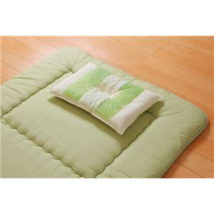 ピロー 枕 高さを選べる ヒバエッセンス使用 『森の眠りひば枕L』 約35×50×7cm 低め