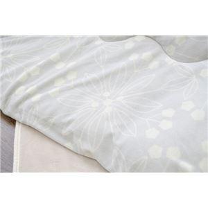 こたつ布団 長方形 掛け単品 洗える 北欧 もちもちタッチ 『レティス』 グレー 約190×240cm
