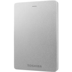 東芝(家電) ポータブルハードディスク 500GB シルバー HD-TH305JS3AA-D