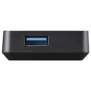 バッファロー USB3.0バスパワーハブ 4ポートタイプ ブラック BSH4U100U3BK