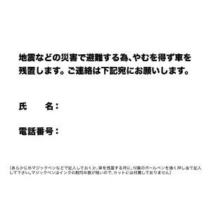 EX.ドライブ・セーフ・ホーム無事にお帰りセット(DSH) SL (車用・防災・非常用・備蓄・避難・防災セット)