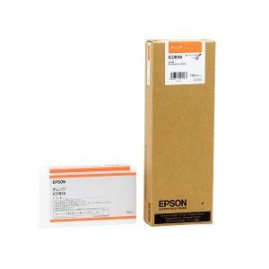 (まとめ) エプソン EPSON PX-P/K3インクカートリッジ オレンジ 700ml ICOR58 1個 【×3セット】
