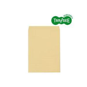 TANOSEE R40クラフト封筒 角0 85g/m2 業務用パック 1箱(500枚)