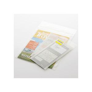 (まとめ)TANOSEE フィルム封筒エコノミー A4 100枚入×10パック