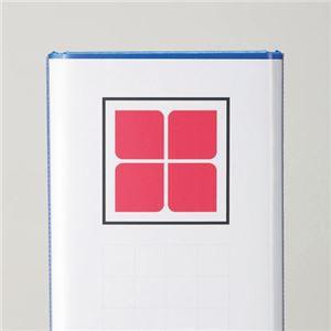 (まとめ) TANOSEE 両開きパイプ式ファイルE A4タテ 500枚収容 背幅76mm 青 1セット(10冊) 【×2セット】