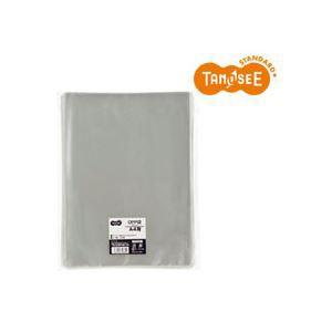 (まとめ)TANOSEE OPP袋 A4用フラット 225×310mm 100枚入×10パック
