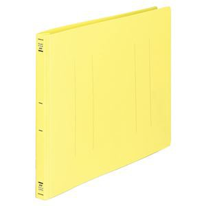 (まとめ) コクヨ フラットファイル(PP) B4ヨコ 150枚収容 背幅20mm 黄 フ-H19Y 1セット(10冊) 〔
