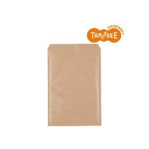 (まとめ)TANOSEE クッション封筒エコノミー 茶 内寸235×330mm 100枚入×2パック