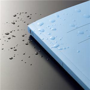 (まとめ) TANOSEE フラットファイル(PP) A4タテ 150枚収容 背幅17mm クリア 1セット(25冊:5冊×5パック) 【×2セット】