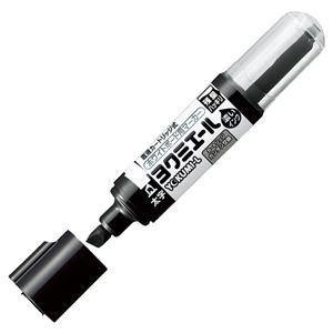 (まとめ) コクヨ ホワイトボード用マーカーペン ヨクミエール 太字・角芯 黒 PM-B513D 1本 〔×30セット〕