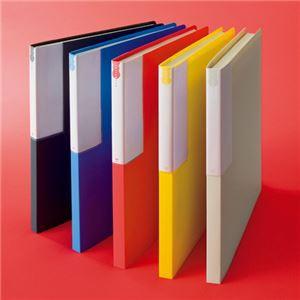 (まとめ) TANOSEE レターファイル(PP) A4タテ 120枚収容 背幅18mm オフホワイト 1冊 〔×30セット