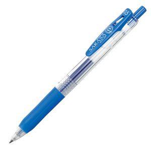 (まとめ) ゼブラ ゲルインクボールペン サラサクリップ 0.5mm ペールブルー JJ15-PB 1本 【×60セット】