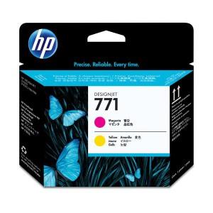 (まとめ) HP771 プリントヘッド マゼンタ/イエロー CE018A 1個 【×3セット】
