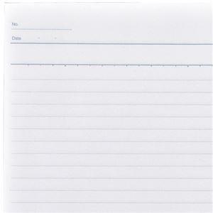 (まとめ) TANOSEE ノートブック セミB5 B罫6mm 30枚 1パック(10冊) 〔×10セット〕