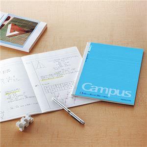 (まとめ) コクヨ キャンパスノート(ドット入り罫線) セミB5 B罫 30枚 ノ-3BTN 1セット(5冊) 〔×10