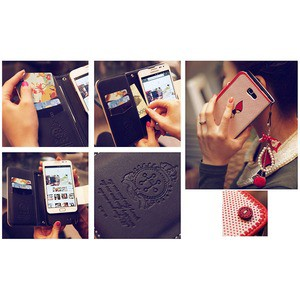 MrH(ミスターエイチ)スマホウォレットケース/レッドライディングフード Byiphone7plus