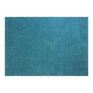 防音オールシーズンラグ フレイク 185×185cm2帖 ブルー【代引不可】
