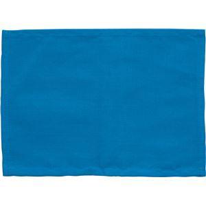(まとめ)アーテック ゼッケン(ビブス) 綿製 225×162mm ブルー(青) 【×50セット】