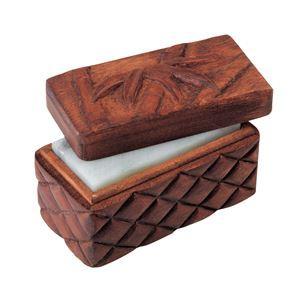 (まとめ)アーテック 木彫印かん小箱 ミニ 〔×15セット〕