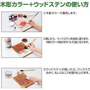 (まとめ)アーテック 工芸木彫カラー/木彫塗料 〔250cc〕 混色自由 B レッド(赤) 〔×5セット〕