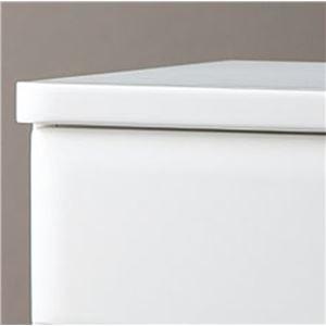 天然木多サイズチェスト/タンス 〔6: 幅60cm・3段〕 木製 ホワイト(白) 〔完成品〕