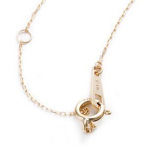 アコヤ真珠 ネックレス K10 イエローゴールド 約7mm 約7ミリ 40cm 長さ調節可能(アジャスター付き) 真珠 あこ