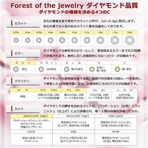 【鑑別書付】K18ピンクゴールド 天然ダイヤリング 指輪 ダイヤ0.50ct 12.5号 ハーフエタニティリング
