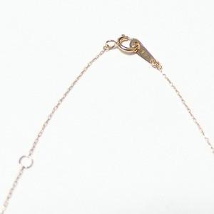 イニシャル ネックレス ダイヤモンド ネックレス 一粒 0.01ct K18 ゴールド 文字 S ダイヤネックレス ペンダン
