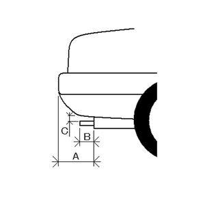 マフラーカッター(468) ネイキッド パイザー ビーゴ
