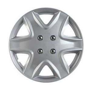 ホイールカバー 14インチ 4枚 スバル ヴィヴィオ (シルバー) 【ホイールキャップ セット タイヤ ホイール アルミホイール】
