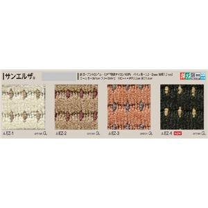 サンゲツカーペット サンエルザ 色番EZ-2 サイズ 220cm 円形 〔防ダニ〕 〔日本製〕