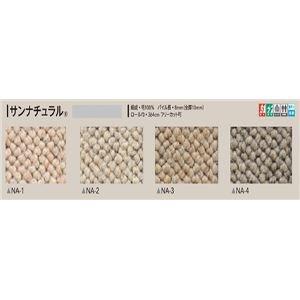 サンゲツカーペット サンナチュラル 色番NA-2 サイズ 140cm×200cm 〔防ダニ〕 〔日本製〕