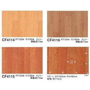 東リ クッションフロアP チェリー 色 CF4115 サイズ 182cm巾×5m 〔日本製〕